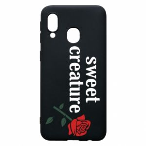 Phone case for Samsung A40 Sweet creature