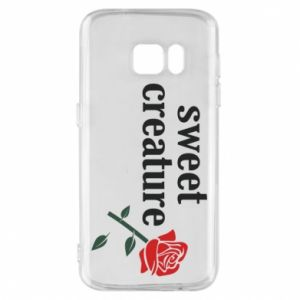 Phone case for Samsung S7 Sweet creature