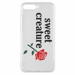 Phone case for Huawei Y6 2018 Sweet creature
