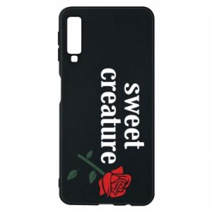 Phone case for Samsung A7 2018 Sweet creature
