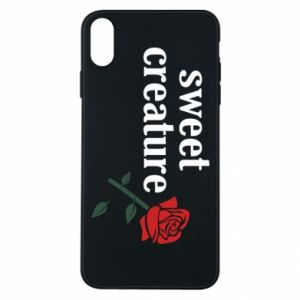 Phone case for iPhone Xs Max Sweet creature
