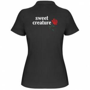 Damska koszulka polo Sweet creature