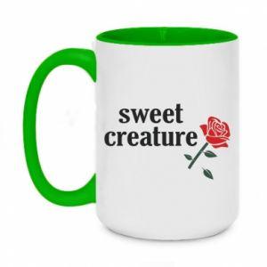 Two-toned mug 450ml Sweet creature