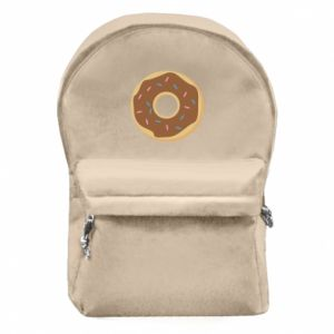 Backpack with front pocket Sweet donut