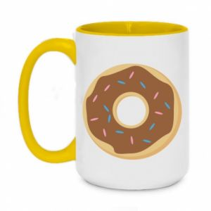 Two-toned mug 450ml Sweet donut
