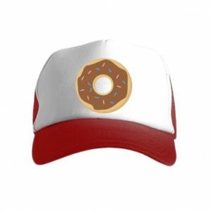 Kid's Trucker Hat Sweet donut