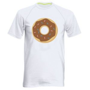 Men's sports t-shirt Sweet donut