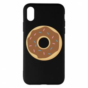 Phone case for iPhone X/Xs Sweet donut