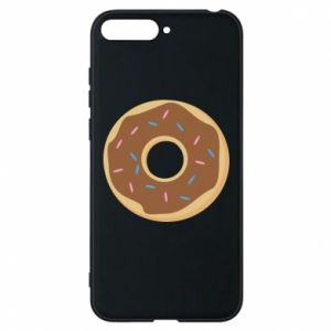 Phone case for Huawei Y6 2018 Sweet donut