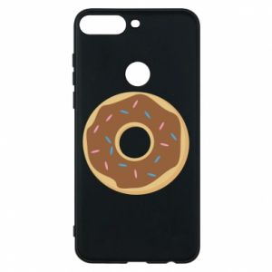 Phone case for Huawei Y7 Prime 2018 Sweet donut