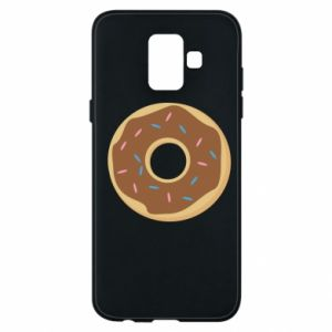 Phone case for Samsung A6 2018 Sweet donut