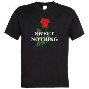 Męska koszulka V-neck Sweet nothing
