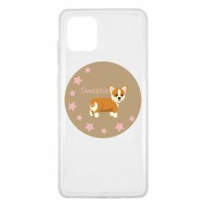Etui na Samsung Note 10 Lite Sweetie dog