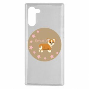 Etui na Samsung Note 10 Sweetie dog