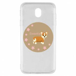 Etui na Samsung J7 2017 Sweetie dog
