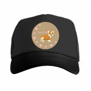 Czapka trucker Sweetie dog - PrintSalon