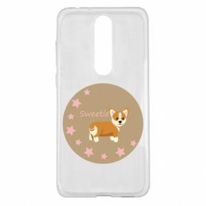 Etui na Nokia 5.1 Plus Sweetie dog