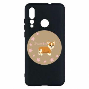 Etui na Huawei Nova 4 Sweetie dog