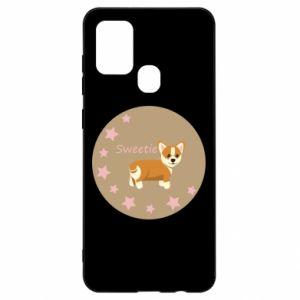 Etui na Samsung A21s Sweetie dog