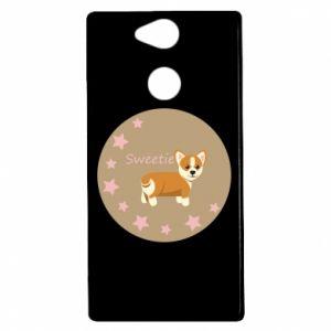Etui na Sony Xperia XA2 Sweetie dog