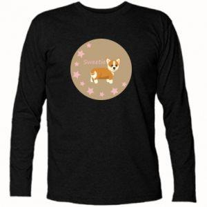 Koszulka z długim rękawem Sweetie dog - PrintSalon