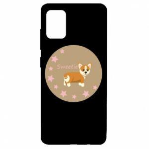 Etui na Samsung A51 Sweetie dog