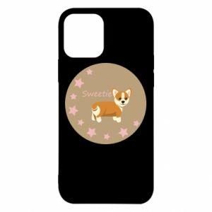 Etui na iPhone 12/12 Pro Sweetie dog