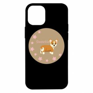 Etui na iPhone 12 Mini Sweetie dog