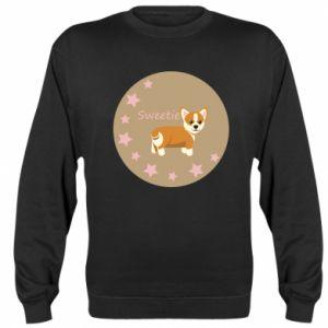 Sweatshirt Sweetie dog - PrintSalon