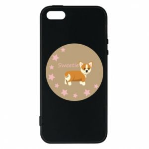 Etui na iPhone 5/5S/SE Sweetie dog - PrintSalon