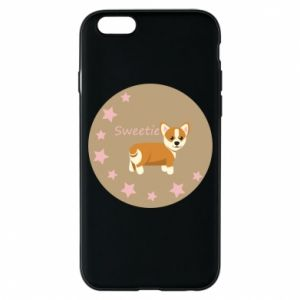 Etui na iPhone 6/6S Sweetie dog - PrintSalon