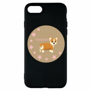 Etui na iPhone 7 Sweetie dog - PrintSalon