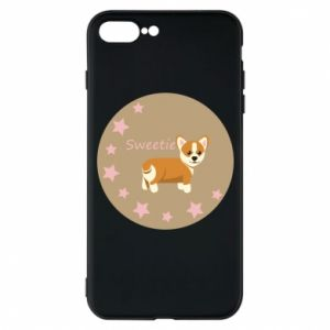 Etui na iPhone 7 Plus Sweetie dog - PrintSalon