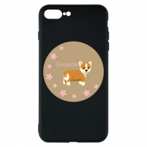 Etui na iPhone 8 Plus Sweetie dog - PrintSalon