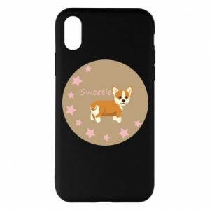 Etui na iPhone X/Xs Sweetie dog - PrintSalon