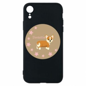 Etui na iPhone XR Sweetie dog - PrintSalon