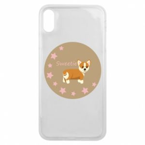 Etui na iPhone Xs Max Sweetie dog - PrintSalon