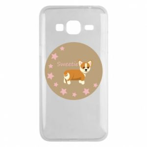 Phone case for Samsung J3 2016 Sweetie dog