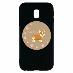 Phone case for Samsung J3 2017 Sweetie dog