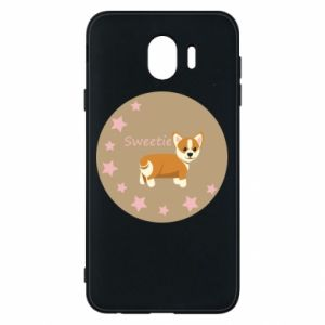 Phone case for Samsung J4 Sweetie dog