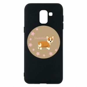 Phone case for Samsung J6 Sweetie dog