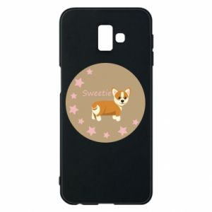 Etui na Samsung J6 Plus 2018 Sweetie dog - PrintSalon