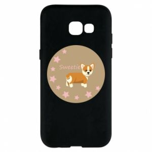 Phone case for Samsung A5 2017 Sweetie dog