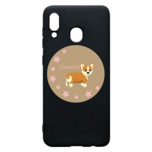 Phone case for Samsung A20 Sweetie dog