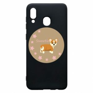 Phone case for Samsung A30 Sweetie dog