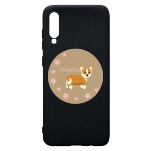 Phone case for Samsung A70 Sweetie dog