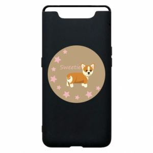 Phone case for Samsung A80 Sweetie dog