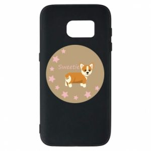 Phone case for Samsung S7 Sweetie dog