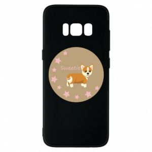 Phone case for Samsung S8 Sweetie dog