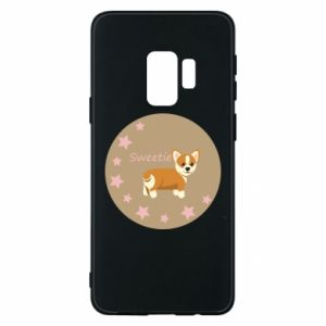Phone case for Samsung S9 Sweetie dog